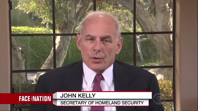 DHS Secretary: 'I Certainly Think A Border Wall Is Essential'