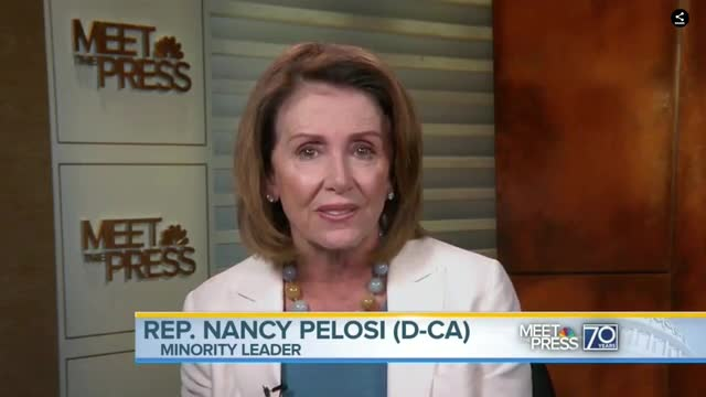 Pelosi: By Insisting on a Wall, Trump Is Showing 'Weakness' on Border Control