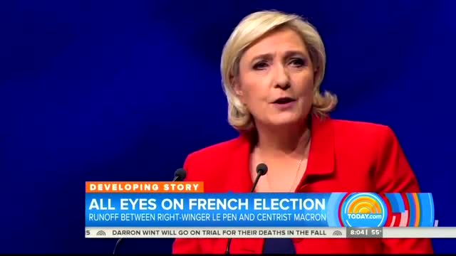 France's 'Racistly Nationalistic' Le Pen 'Modeling Her Campaign on Donald Trump'