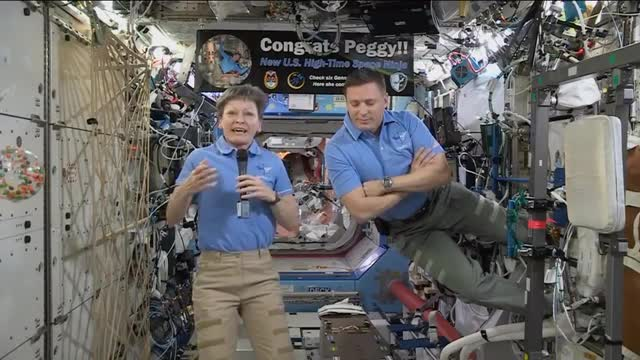 Astronaut Tells Trump from Space: 'We're Also Cleaning Up Our Urine and Making it Drinkable'