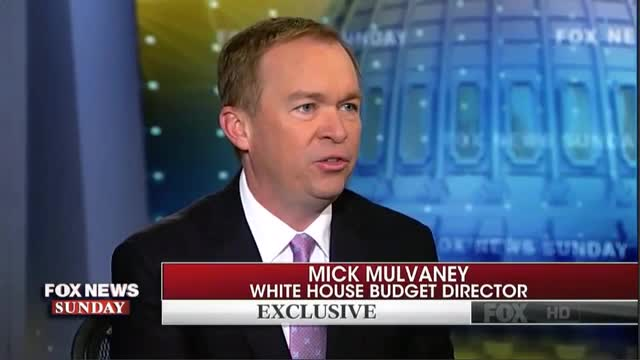 Mulvaney: 'We Don't Understand' Why Dems 'Are So Wholeheartedly Against' Border Wall