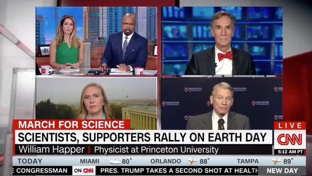 Princeton Physicist Schools Bill Nye:  Paris Climate Agreement is Like 1938 Munich Agreement -- It's 'Appeasement'