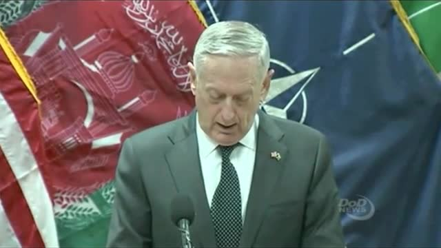 Defense Secretary Mattis: '2017's Going to Be Another Tough Year' in Afghanistan