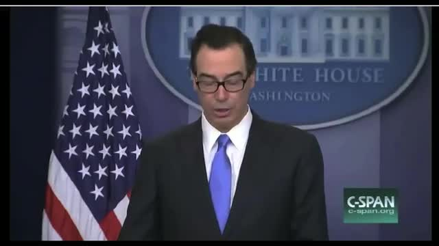 Treasury Secretary Announces Sanctions Against Syrian Government Workers