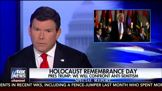 Nets Who Tied Trump to Anti-Semitism Ignore Visit to Holocaust Museum