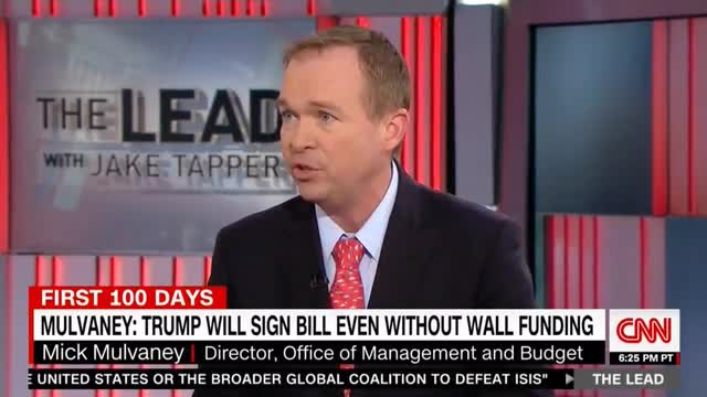 Mulvaney: Republicans Backed Down on Wall Funding, But Democrats Have New Demands