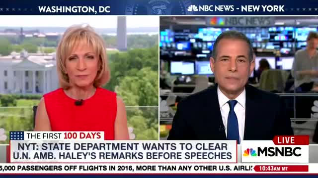 Rick Stengel Accuses Trump of 'Harassment' of Nikki Haley