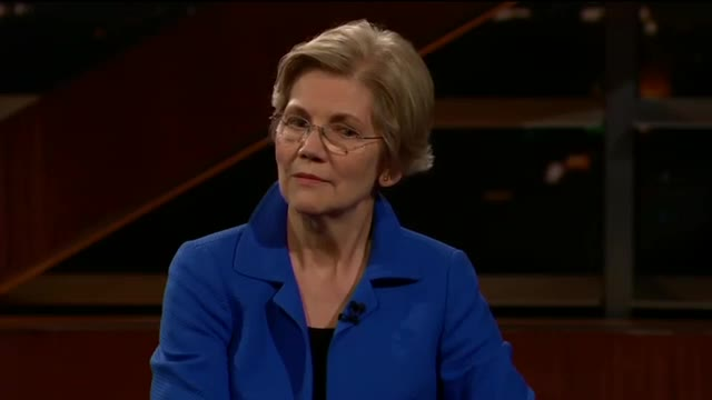 Elizabeth Warren not amused when Bill Maher calls her 'Pocahontas'