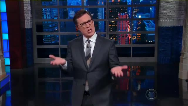 Vile Colbert Doubles Down on Trump Attack, 'I Don't Regret That'