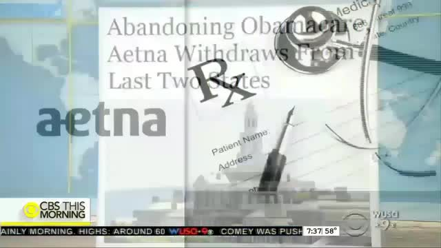 Aetna Pulls Out of Obamacare: ABC, NBC Ignore