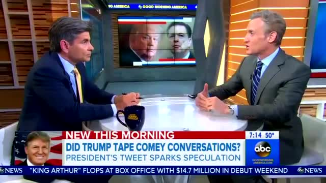Stephanopoulos Cites Obama Mentor Accusing Trump of 'Impeachable Offense'