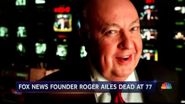 NBC Smears Rodger Ailes as Someone Who Diminished American Politics