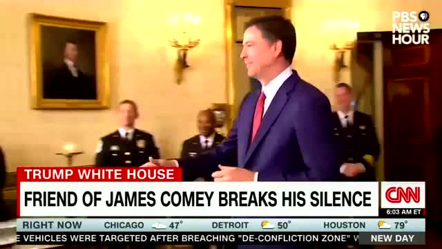 Media Seize on Claim Comey 'Disgusted' by Trump Handshake