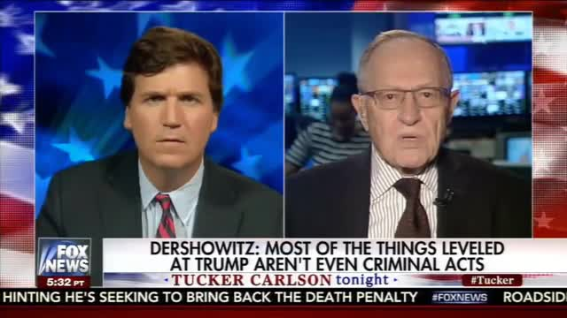 Liberal Dershowitz on Special Counsel: 'In The End, He'll Find No Crime' No Obstruction of Justice