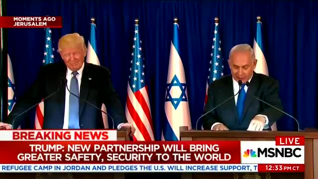 Andrea Mitchell Bemoans Trump Not Putting 'Pressure' on Israel; Netanyahu's 'Slap' at Obama