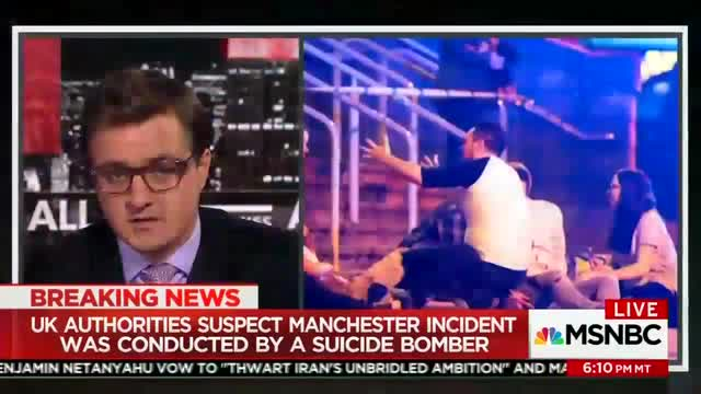 MSNBC's Chris Hayes Tries to Invoke Politics in Manchester Terror Attack, Guest Isn't Having It