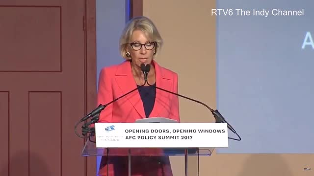 DeVos Calls for 'Transformation' of America's 'Closed and Antiquated Education System'