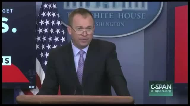 WH Budget Director: This Budget Reaches Balance Within 10 Years and Considers the Taxpayer