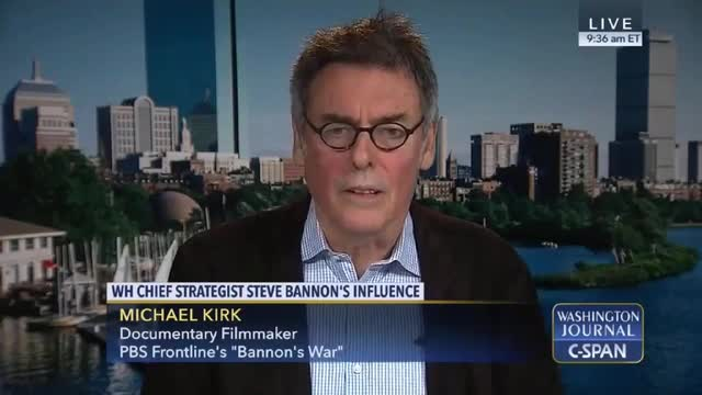 PBS 'Frontline' Director Wrongly Claims Steve Bannon Had No Military Experience