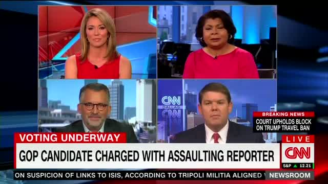 WATCH: CNN Panel Explodes When Conservative Brings Up Anthony Weiner