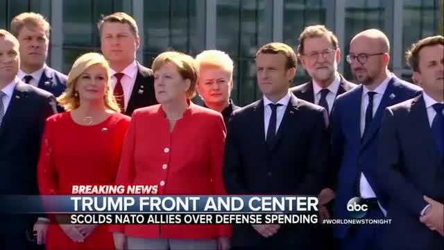 Nets Whine Trump Lectured to NATO 'Instead of Making Nice'