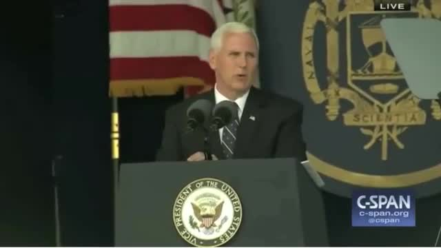 VP to Naval Academy Grads: 'Discipline Is the Foundation of Leadership'