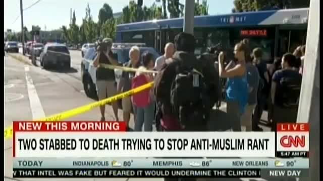 CNN Hosts CAIR to Blame Trump for Anti-Muslim Violence in Oregon