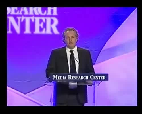 "Andrew Breitbart Accepts ""Media Messiah"" Award"