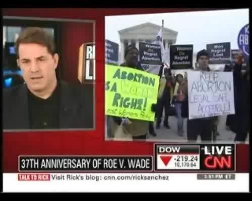 CNNs Rick Sanchez Not Sure Whos Protesting At Annual Pro-Life March in D.C. 