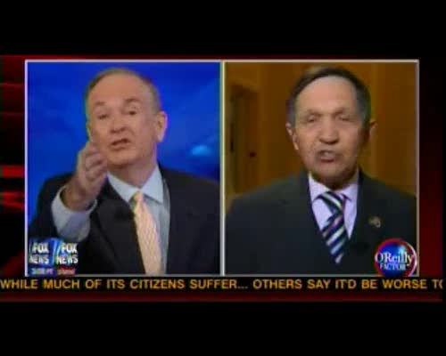 Kucinich&#039;s Fairness Doctrine Threat To O&#039;Reilly: Quit Celebrating Fox Success 