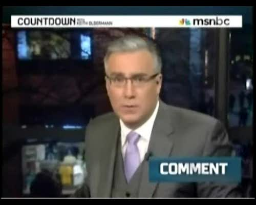 Olbermann Whines about Mainstream Medias Lack of Outrage over SCOTUS Campaign Finance Decision