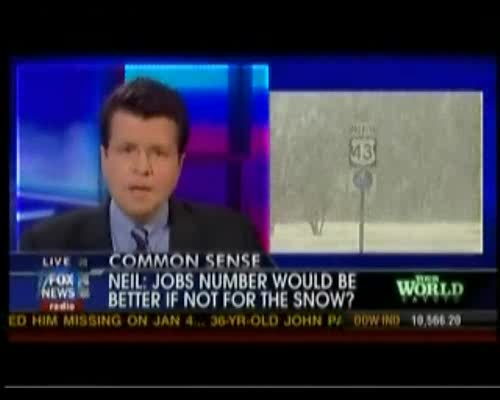 Cavuto: Blaming Snow for Weaker Weather a Farce