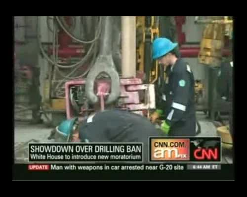 CNN Discusses Oil Moratorium with Tom Bower
