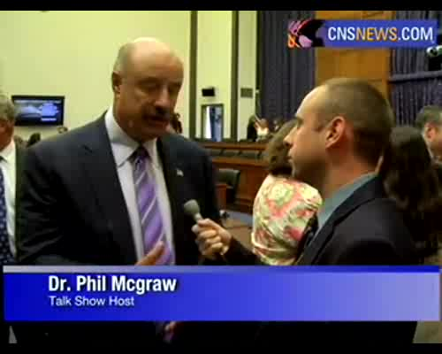 Dr. Phil Backs Federal Funding To Combat Cyber Bullies