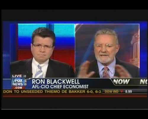 Stay Classy: AFL-CIO Economist Calls FNC's Cavuto an 'Asshole' on Live TV