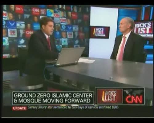 Rick Sanchez to Pataki: Are Ground Zero Mosque Oppoents Responsible For  Koran Burning?