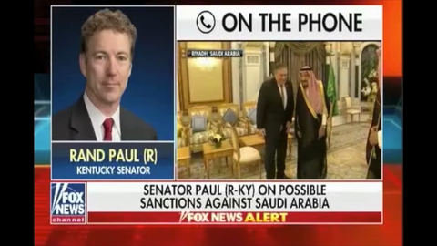 Rand Paul: Saudis 'Are Not Our Friends'; Stop Arming Them